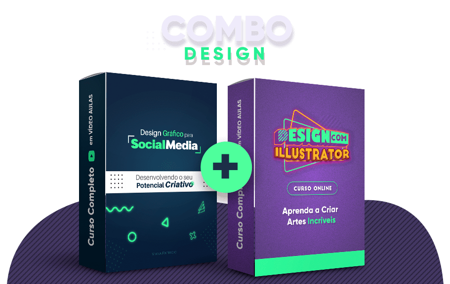 Combo Design Cursos 100 Online Design Com Vc